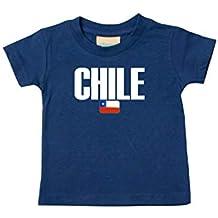 Shirtstown Bebé Niños Camiseta Fútbol Camiseta de País Chile