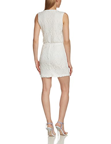ONLY - Onlmargaretha S/l Dress Jrs, Vestito da donna Bianco (Cloud Dancer)