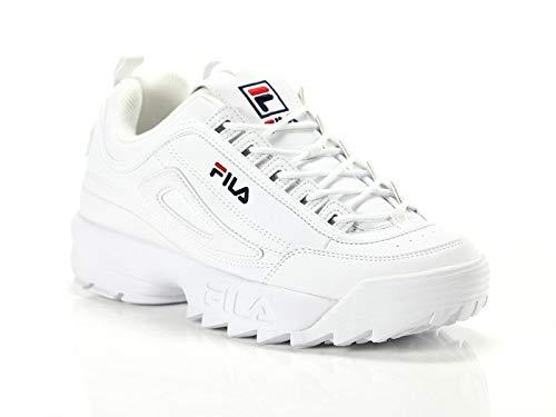 Fila scarpe da ginnastica basse donna, bianco (white 1010302/1fg), 37 eu