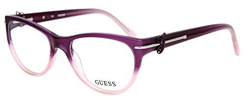 Guess Brille GU 2302 PUR 52 Brillengestell Glasses Frame Damen UVP 174EUR