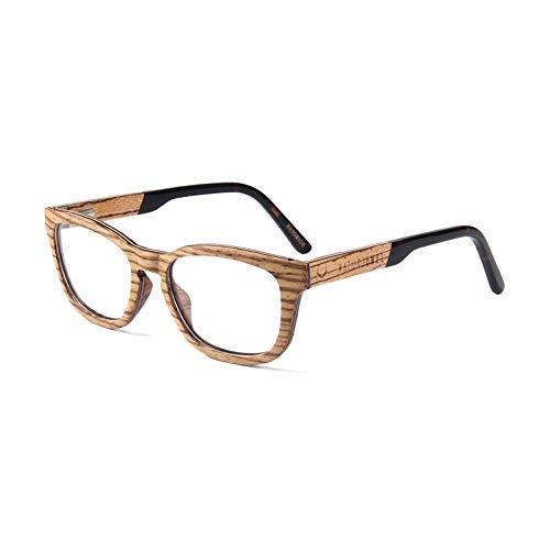 Naturjuwel Holz Brillengestell Herren braun Brillenfassung Brillenrahmen Optiker Holzbrille Holz...