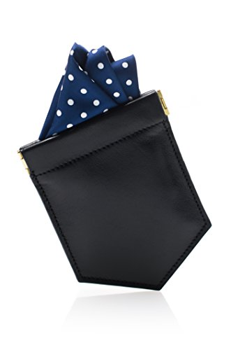 luxury-pocket-square-holder-mens-fashion-accessory-to-hold-the-handkerchief-fold-slim-black-leather-