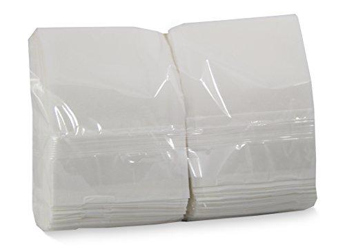 Saten Miniservis, Servilleta 17x17, 1 Capa, Blanca, 9 Paquetes de 200 Unidades