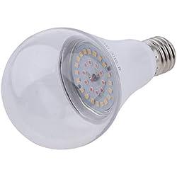 perfeclan E27 LED Pflanzenlampe Pflanzenlicht Sonnenlicht Wachstumslampe für Zimmerpflanzen - Warmes Weiß_15W