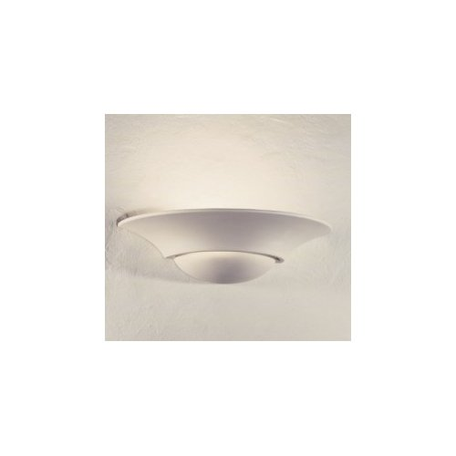 SYLT GIPS WANDLEUCHTE max. 12W LED E27 od. 20W PL-ELT E27 GIPSLAMPE