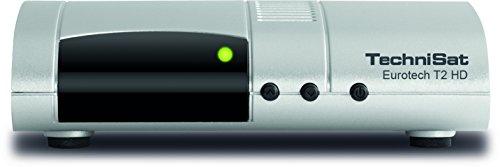 TechniSat EUROTECH T2 HD Digital-Receiver mit Single-Tuner für Empfang in HD, mit Multimedia-Player...