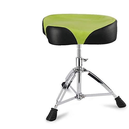 FELICIPP Verstellbarer Drum-Hocker mit Thron-Sitz im britischen Graffiti-Format ( Color : Green )