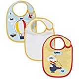 Mothercare Fly Away Bibs (Multicolor, Pack Of 3)