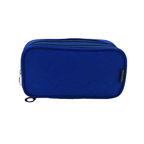 Kosmetiktasche Portable Travel Kleine Kosmetiktasche, Stillshine - Wasserdichte Waschbeutel Multifunktionale Portable Aufbewahrungstasche Mode Cube Purse Pouch Carry (Stil 3)