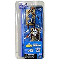 CARMELO ANTHONY/DENVER NUGGETS & BARON DAVIS/NEW ORLEANS HORNETS * 3 INCH * McFarlane's NBA Sports Picks Series 2 Mini Figure 2-Pack