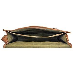 314z3FW2PDL. SS300  - Gusti Cuero nature Bolso Bandolera Formato A4 Universidad Trabajo Carpetas Libros Portátil 15,6'' Vintage Retro Marrón…