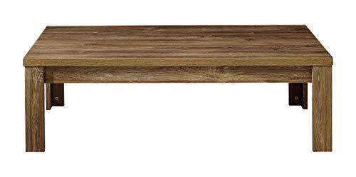 Stella Trading Gent-Brüssel Couchtisch, Holz, Braun, (B/H/T) 130 x 40 x 65 cm