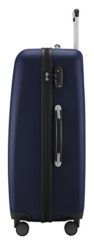 HAUPTSTADTKOFFER - Wedding - Großer Hartschalen-Koffer Koffer Trolley Rollkoffer Reisekoffer Spinner, 4 Rollen, TSA, 75 cm, 103 Liter, Dunkelblau - 4