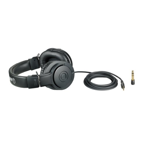 Audio-Technica ATH-M20x Over-Ear Professional Studio Monitor Headphones (Black) Image 6