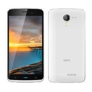 Spice 5.5 inch (13.97 cm) Quadcore Full Touch Dual SIM Phone MI-551White