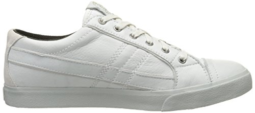 Diesel Sneaker Homme lacets D-String Leather White Blanc