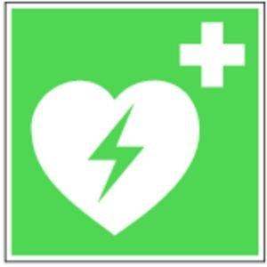 0241. Defibrillator, E017 - K-STOFF DEFIBRIlLLATOR E17 - 200x200mm