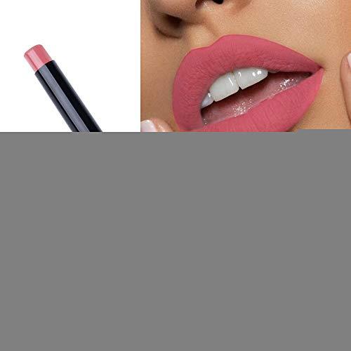 PNING Waterproof Lipgloss Lipstick Matte Pumpkin Color Lipstick Lip Pencil mit edlen Farbpigmenten und cremiger Textur - unglaublich reichaltig und pflegend