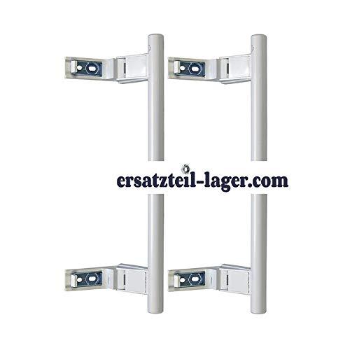 ORIGINAL Set Türgriff weiß Stangenform Kühl-Gefrier-Kombination Liebherr 9086742