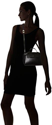 Le Tanneur - Lily, borsa a tracolla Donna Nero (Noir)