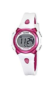 Calypso - K5609/3 - Montre Mixte - Quartz - Digitale - Alarme - Chronomètre - Bracelet plastique Blanc