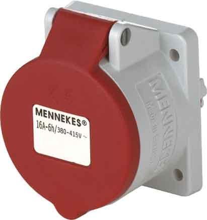 Preisvergleich Produktbild Mennekes (Unternehmen) 3385–Boden Einbauleuchte 16A 5Polen 400V Referenz