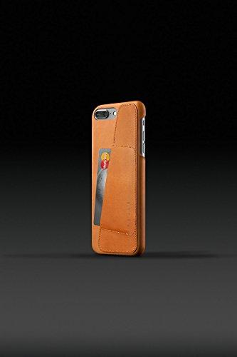 Leather Wallet Case für iPhone 7/8, Black hautfarben