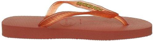 Havaianas Zehentrenner Damen/Herren Top Orange (Salmon)