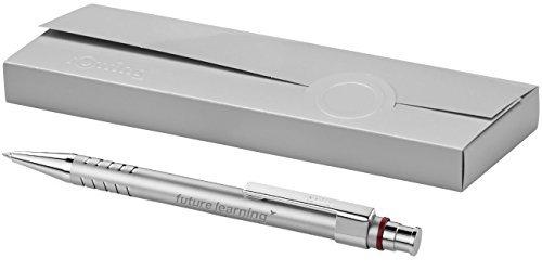 Exklusiver Rotring Kugelschreiber Modell DUBAI silber inkl. Gravur Lasergravur graviert neu