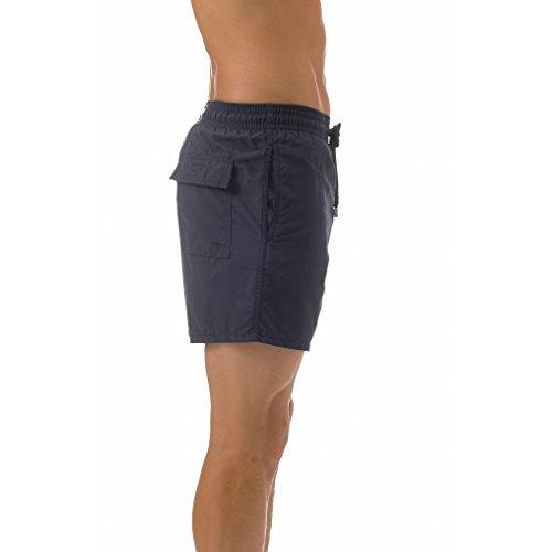 Vilebrequin Swimwear - Anchor Stickerei Motu Badeshorts Herren Marineblau
