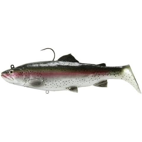 Salvaje engranaje real swimbait hundimiento señuelo de la pesca, de 11 pulgadas, la oscuridad de la