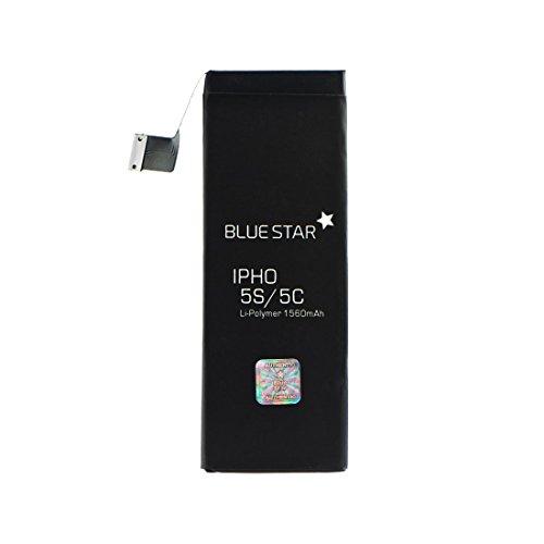 Akku iPhone 5 Ersatzakku für Handy identische Ersatzbatterie 1440mAh optimierter Lithium-Polymer Akkumulator für alle APN, Ersatz für Wechsel und Austausch bei defekter Original Batterie von - Kunden-service-telefon-nummer
