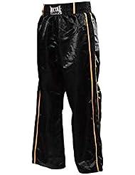 Pantalon de Full Contact Noir 2 bandes dorées METAL BOXE