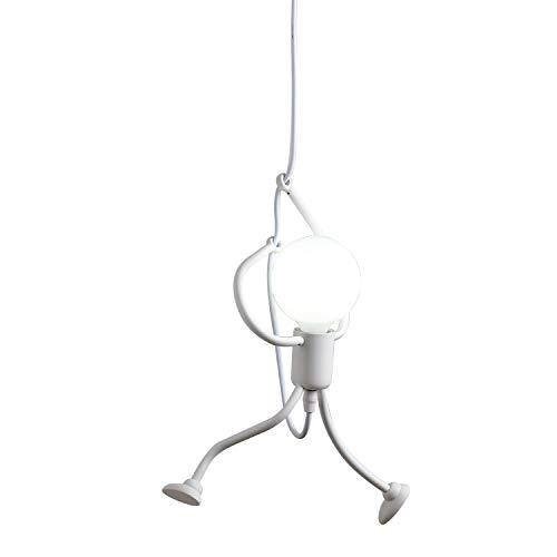 Moderno cartone animato lampada a sospensione ferro lampadario per camera dei bambini camera da letto loft soggiorno cucina sala da pranzo balcone foyer bar bello luce pendente plafoniere e27