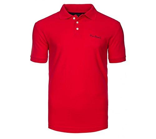 Pierre Cardin Poloshirts T-Shirts Herren Polohemden Hemden in verschiedenen Modellen, Größenauswahl:S;Farbe:Rot