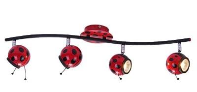 Deckenleuchte Kinderleuchte Marienkäfer Globo Ladybird 5718-4 von Globo bei Lampenhans.de