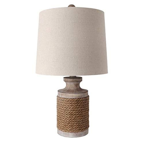 Led leuchtet edison lichter retro schnur wohnzimmer led tischlampe, tuch schatten bar leinen lampe lampenschirm -