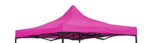 Trademark Innovations Pavillon/Pavillon/Überdachung, quadratisch, 24,6 x 24,6 cm, Pink