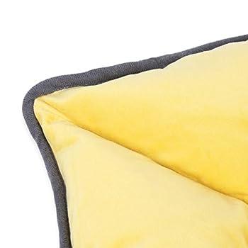 Conysan Matelas lavables pour Chiens et Chats, Coussins de en Peluche pour Animaux de Compagnie pour soulager l'arthrite ou Les douleurs de la Hanche des Animaux de Compagnie (Étoile)