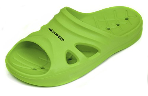 Aqua Speed Kinder Badelatschen Florida, 06 Hellgrün, 29