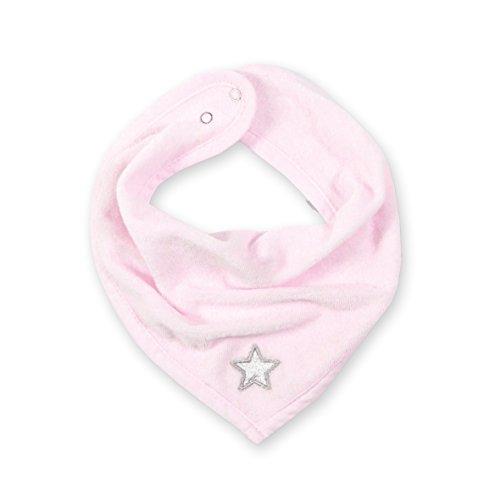 Bemini by Baby Boum 355STARY54TU Bandana Lätzchen Terry Stary Cristal, 25 cm, rosa