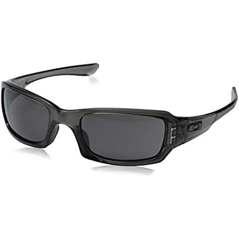Oakley - Occhiali da sole OO9238 Rettangolari, Donna, Grey Smoke/Warm Grey (S3)
