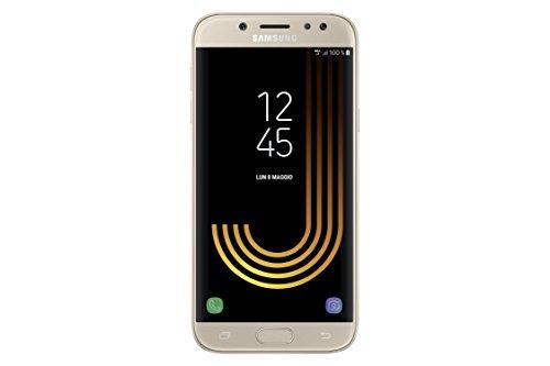 Samsung Galaxy J5 (2017) Smartphone, Gold, 16 GB Espandibili, Dual SIM [Versione Italiana]