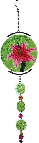 Glas-datenträger (Premier Kites 81145 Sonnenscheibe aus Glas, Motiv Stargazer Lily)