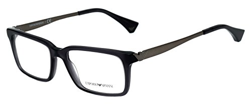 Emporio Armani Rectangular Sunglasses (Grey) (EA7GR53) image