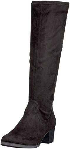 CAPRICE Damen 25506 Stiefeletten, Schwarz (Black Stretch 44), 37.5 EU