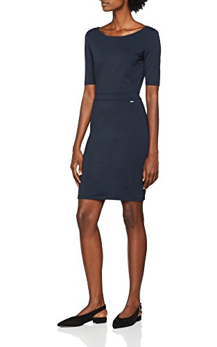 Armani Exchange Damen Kleid 6ZYA73, Blau (Navy 1510), Large