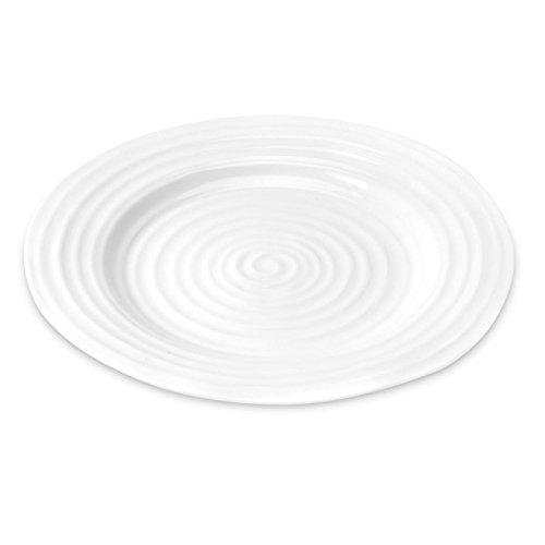 Portmeirion Sophie Conran-Piatto da Bistro, colore: bianco, confezione da 2