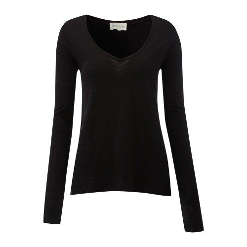 American Vintage - T-Shirt - Femme Noir No