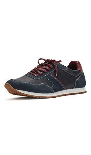Reservoir Shoes Basket Cuir Marron Nicia suee
